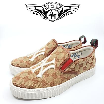 "Gucci Slip-On Sneaker ""NYC New York Yankees"""