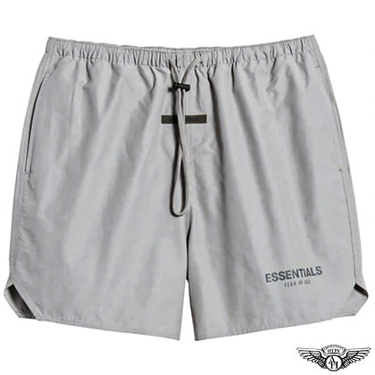 Fear of God Essentials SS21 Volley Shorts | Cement