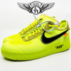 """How to Legit Check the Nike Air Force 1 x Off-White """"Volt"""""""