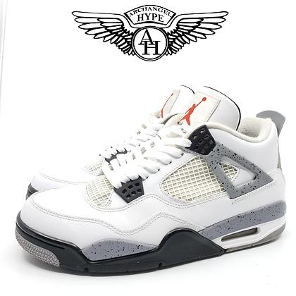 """Nike Air Jordan 4 """"White Cement """" 2012"""