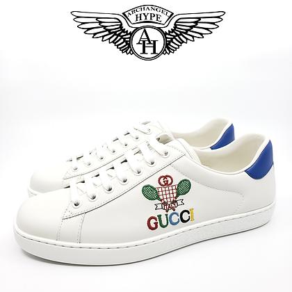 """Gucci Ace Sneaker """"Worldwide/Tennis"""""""