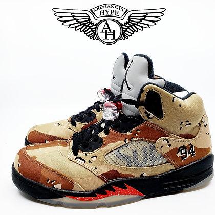 "Air Jordan 5 x Supreme ""Camo"""