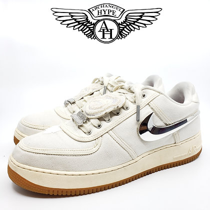 "Nike Air Force 1 ""Travis Scott/Cactus Jack"" Sail"