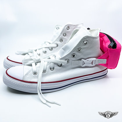 Converse Chuck Taylor All-Star Hi Buckle Up White/ Pink