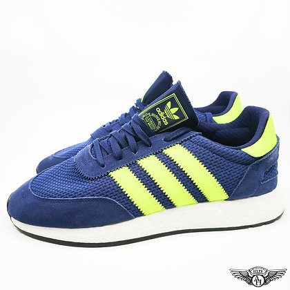Adidas I-5923 Dark Blue Solar Yellow
