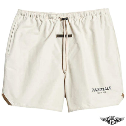 Fear of God Essentials SS21 Volley Shorts | Stone