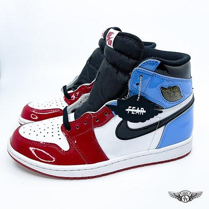 Nike Air Jordan 1 Retro High Fearless UNC to Chicago