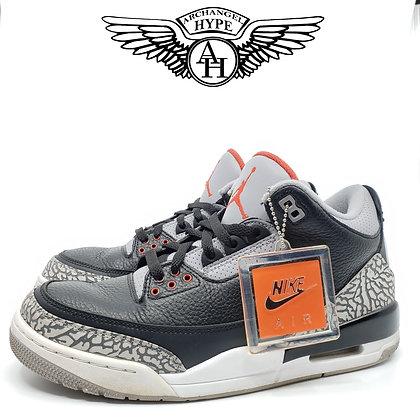 "Air Jordan Retro 3 ""Black Cement"" 2018"