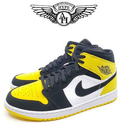 """Nike Air Jordan 1 Mid """"Yellow Toe"""""""