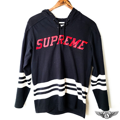 Supreme Hooded Hockey Pullover