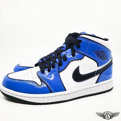 Nike Jordan 1 Mid Signal Blue