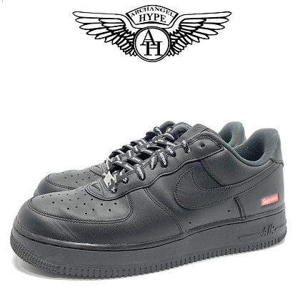 """Nike Air Force 1 """"Supreme"""" Black"""