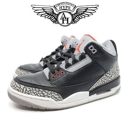 """Air Jordan 3 """"Black Cement"""" 2018"""