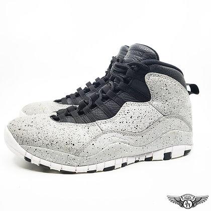 Air Jordan 10 Light Smoke Grey