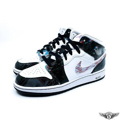 Nike Air Jordan 1 Mid GS 'Take Flight'