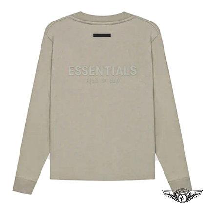 Fear of God Essentials SS21 Long Sleeve T-Shirt   Moss