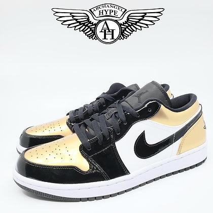 """Air Jordan 1 Low """"Gold Toe"""""""