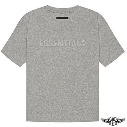 Fear of God Essentials SS21 Short Sleeve T-Shirt | Dark Oatmeal Heather