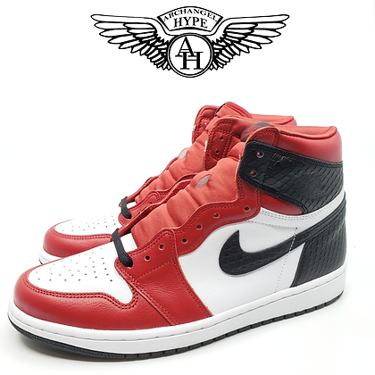 "Nike Air Jordan 1 Satin ""Snake Skin"""