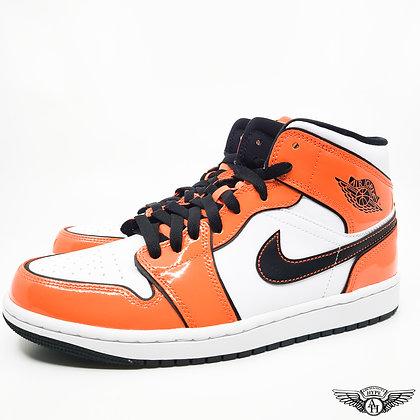 Jordan 1 Mid SE Turf Orange