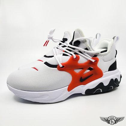 Nike React Presto White University Red