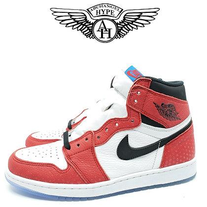 """Nike Air Jordan 1 Retro """"Spider-Man/Origin Story"""""""