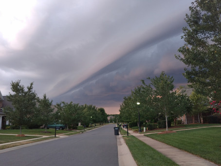 What is a Shelf Cloud and How Does It Form?