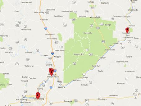 Mid Ohio Valley Photo Map
