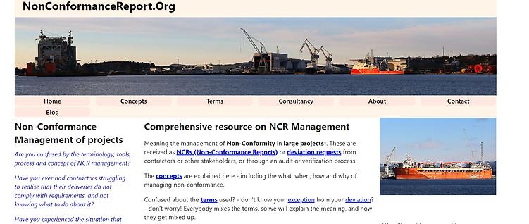 A comprehensive resource on non-conforma