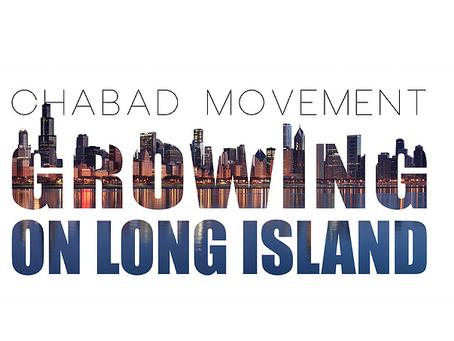 CHABAD MOVEMENT GROWING ON LONG ISLAND - NEWSDAY