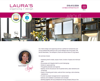 Laura's Organizing + Design