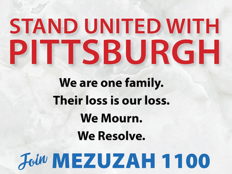 Mezuzah Campaign for Pittsburgh