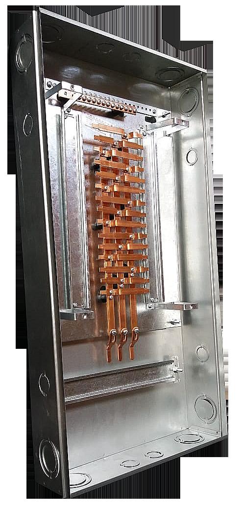 Quadro 24 DIN Caixa medio lateral
