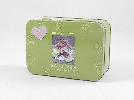 Teddy in a Tin (Travel Bear)