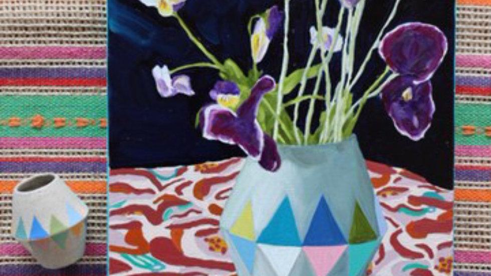 Pansies and Lavender