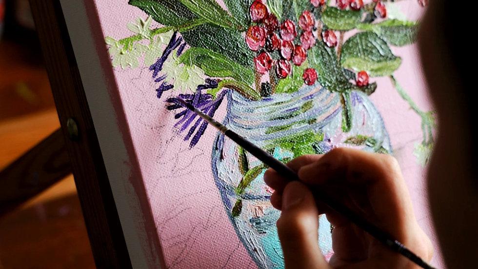 Personalised beginner art class