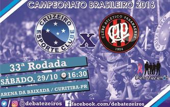 Pré-Jogo: Atlético-PR x Cruzeiro