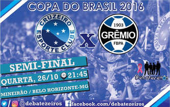 Pré-Jogo: Cruzeiro x Grêmio - Copa do Brasil
