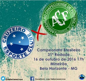 Pré-Jogo: Cruzeiro x Chapecoense