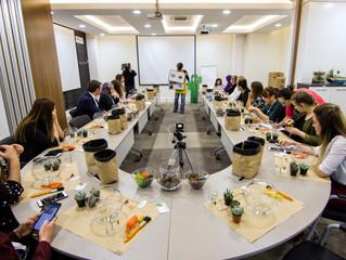 Antalya OSB Ar-Ge ve İnovasyon Proje Pazarı Terrarium Atölyeleri 1. Gün