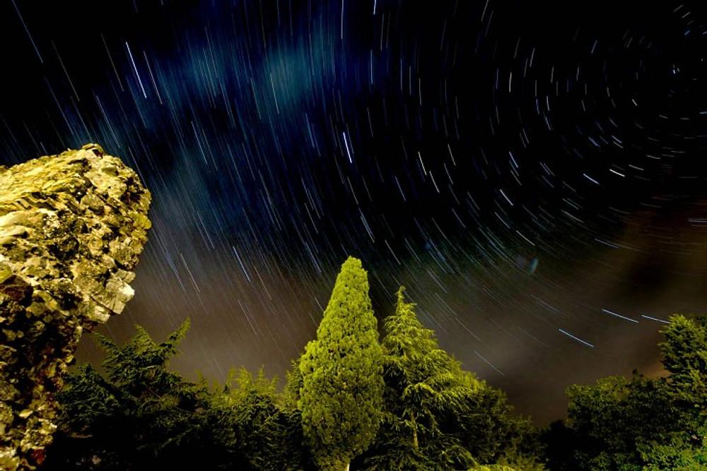 stelle - cielo notturno - umbria