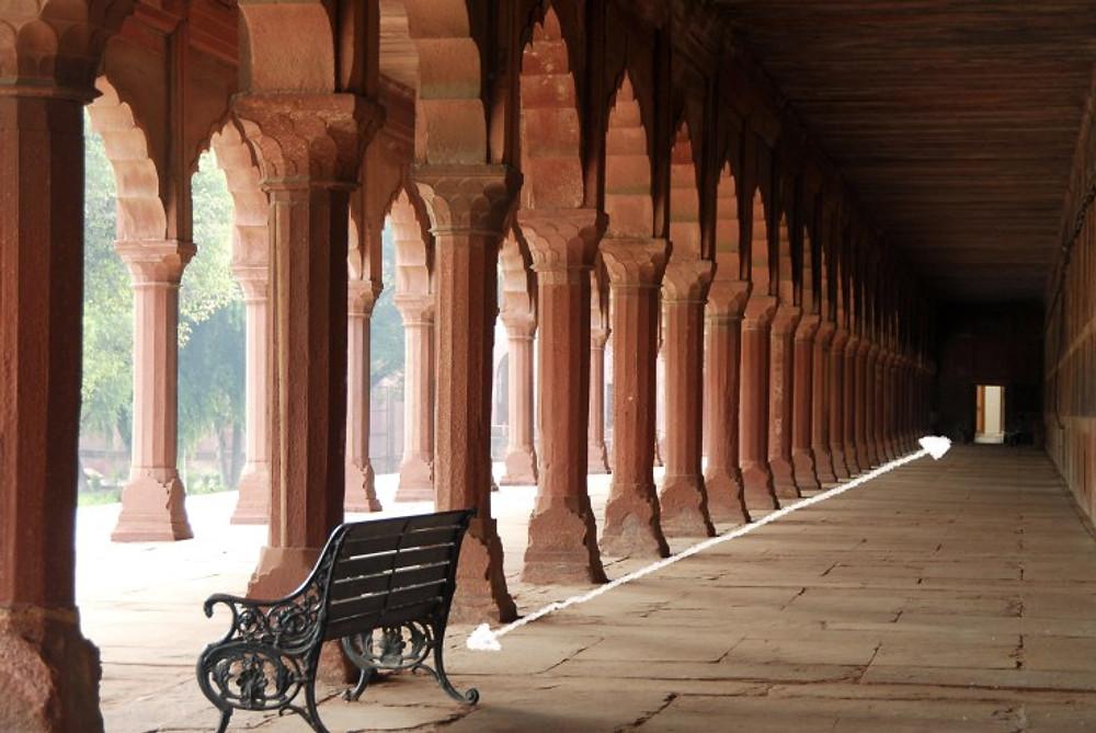 Colonnato Taj Mahal