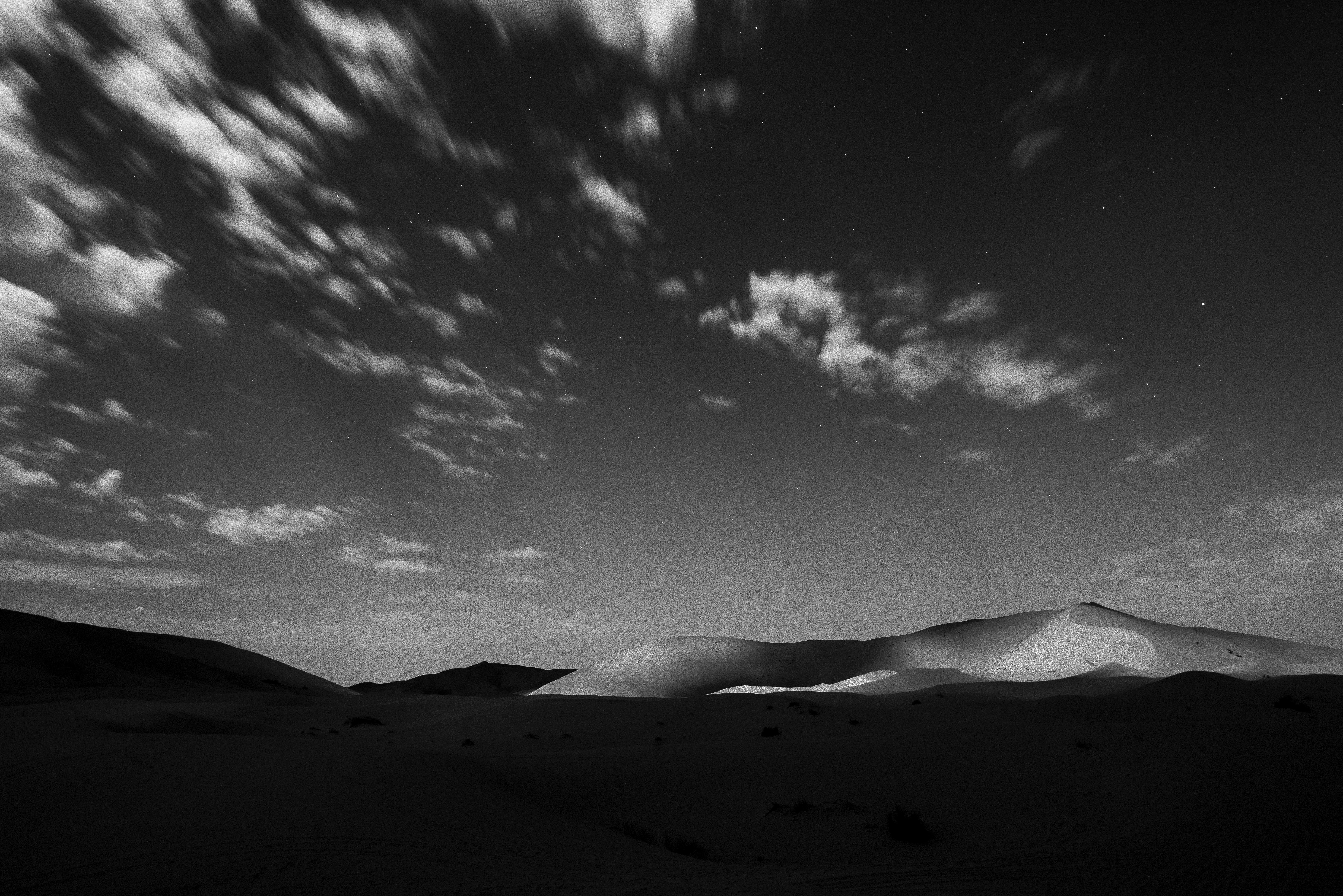dune nella notte