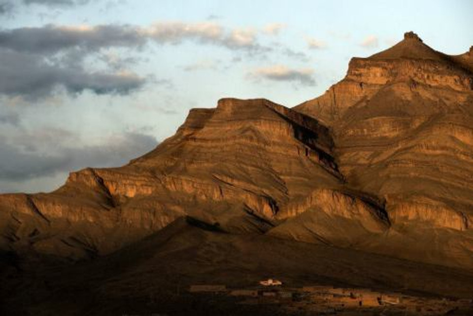 I monti della Valle del Draà in Marocco.