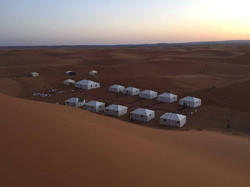 Il campo tendato - Sahara