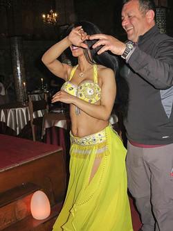 Con la danzatrice berbera