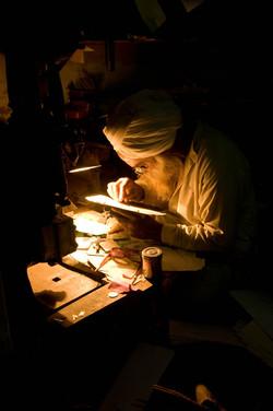 Mr Singh, il tipografo