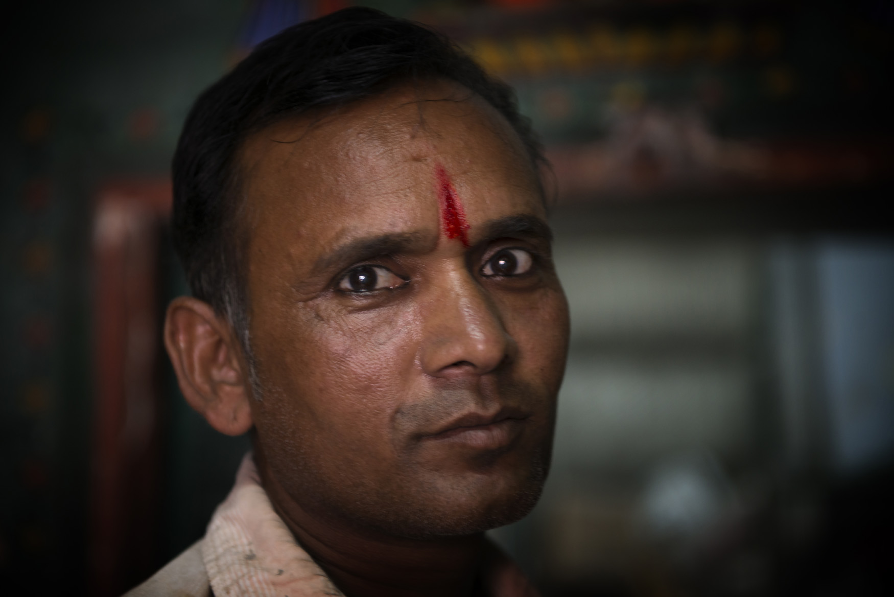 Uomo con kajal
