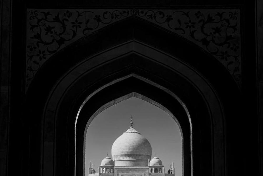 Framed Taj Mahal
