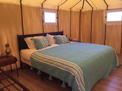 Letti nella tenda - Sahara